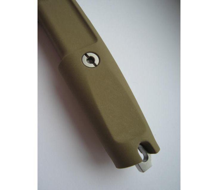 Фото 14 - Полевой поварской нож Extrema Ratio Kato 20 Desert Camo, сталь Bhler N690, рукоять Forprene®