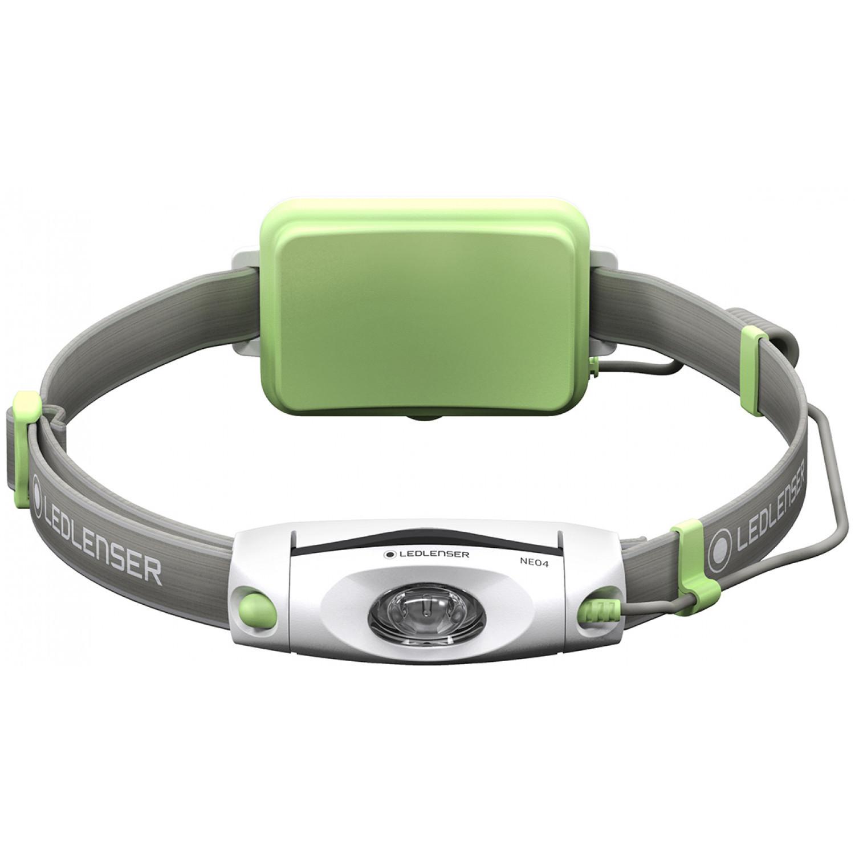 цена на Фонарь светодиодный налобный LED Lenser NEO4 зеленый, 240 лм., 3-ААА, шт