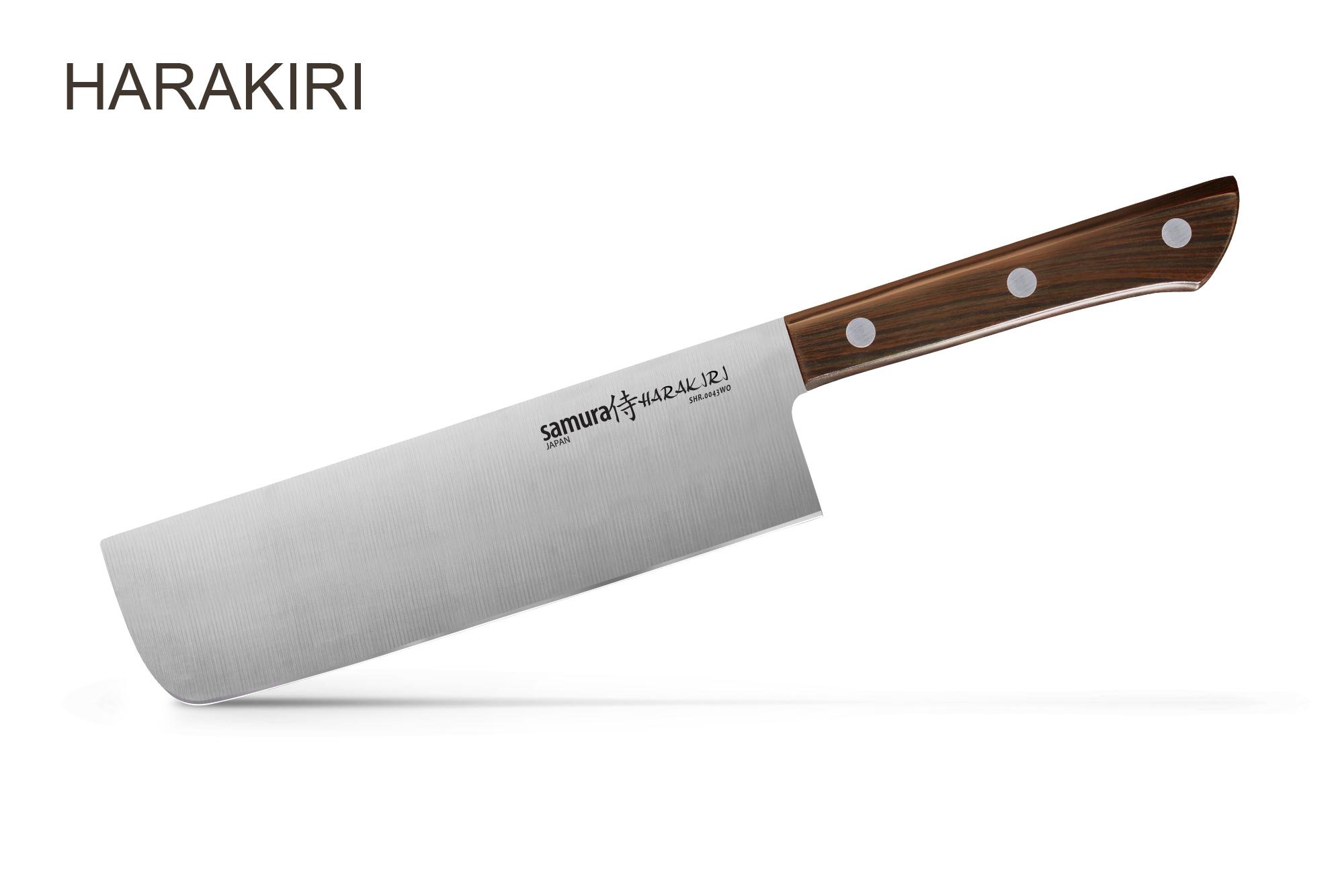Фото 6 - Нож кухонный Накири Samura
