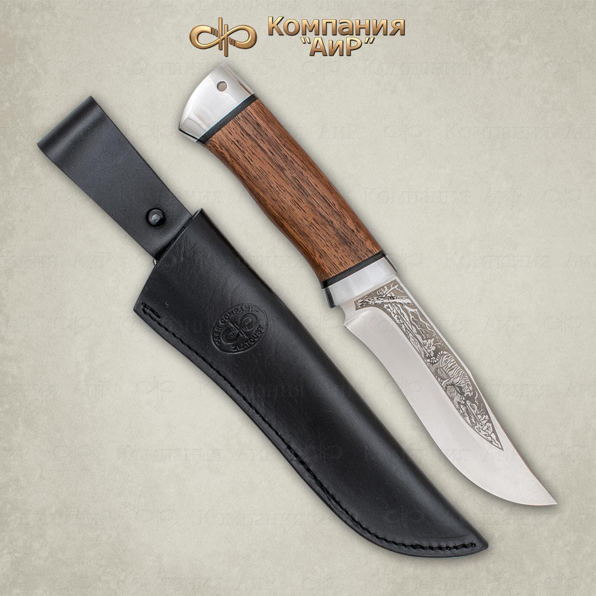 Нож разделочный АиР Клычок-3, сталь М390, рукоять дерево