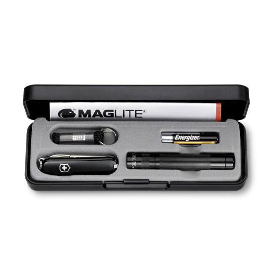 Набор Victorinox 4.4014 нож 0.6223.3 + светодиодный фонарь Maglite Solitaire LED