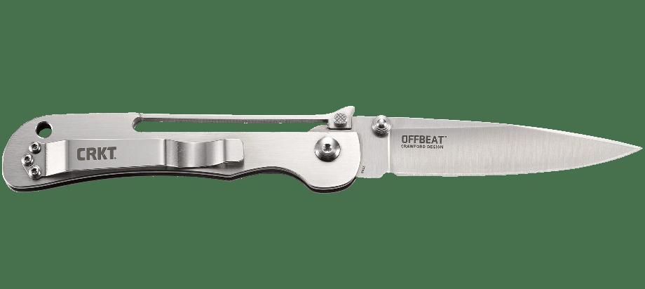 Фото 6 - Складной нож CRKT Offbeat, сталь 8Cr13MoV, рукоять из нержавеющей стали