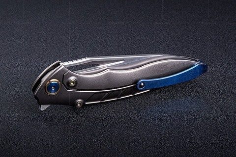 Нож складной RK1902-B от Rike, сталь M390. Вид 12