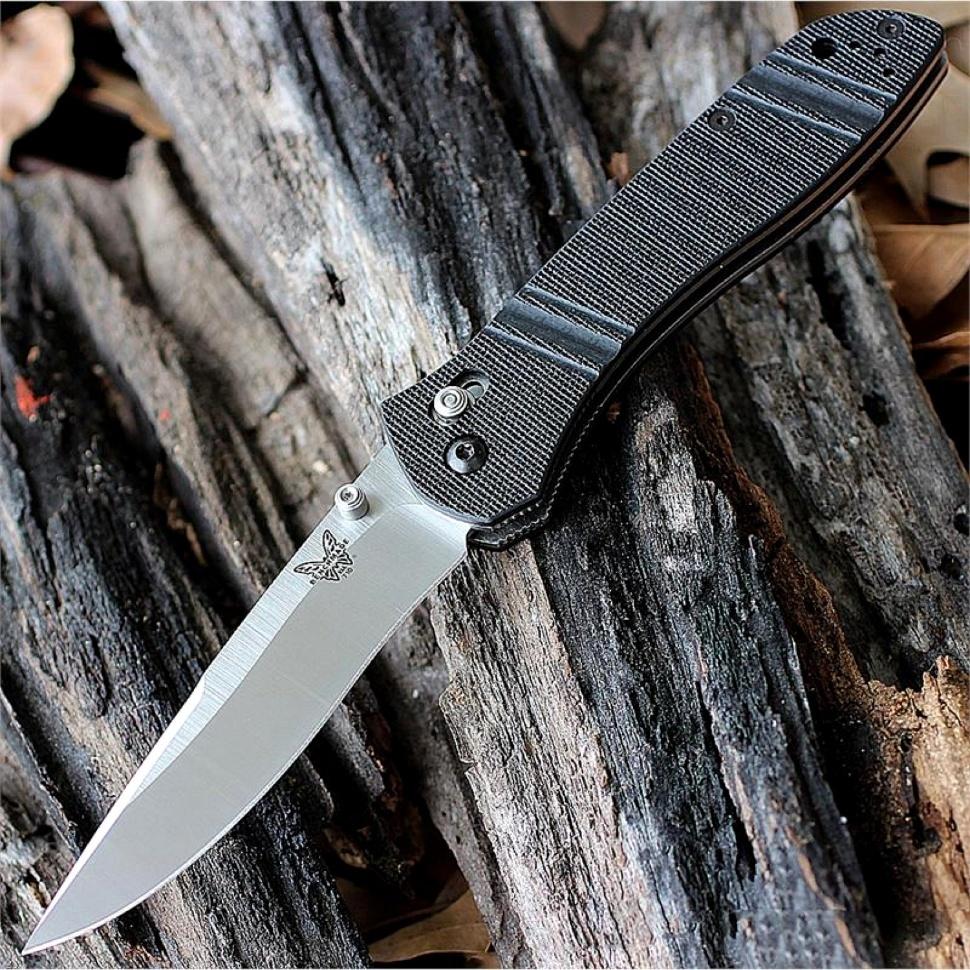 Фото 13 - Нож складной 710D2, сталь D2, рукоять G-10 от Benchmade