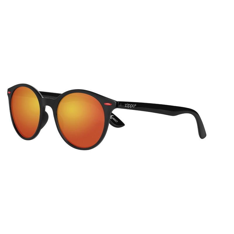 Фото - Очки солнцезащитные ZIPPO OB70-03, унисекс, чёрные, оправа из поликарбоната очки солнцезащитные zippo ob70 01 унисекс чёрные оправа из поликарбоната