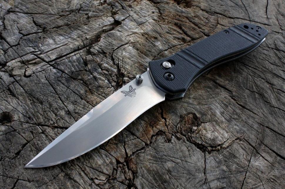 Фото 12 - Нож складной 710D2, сталь D2, рукоять G-10 от Benchmade