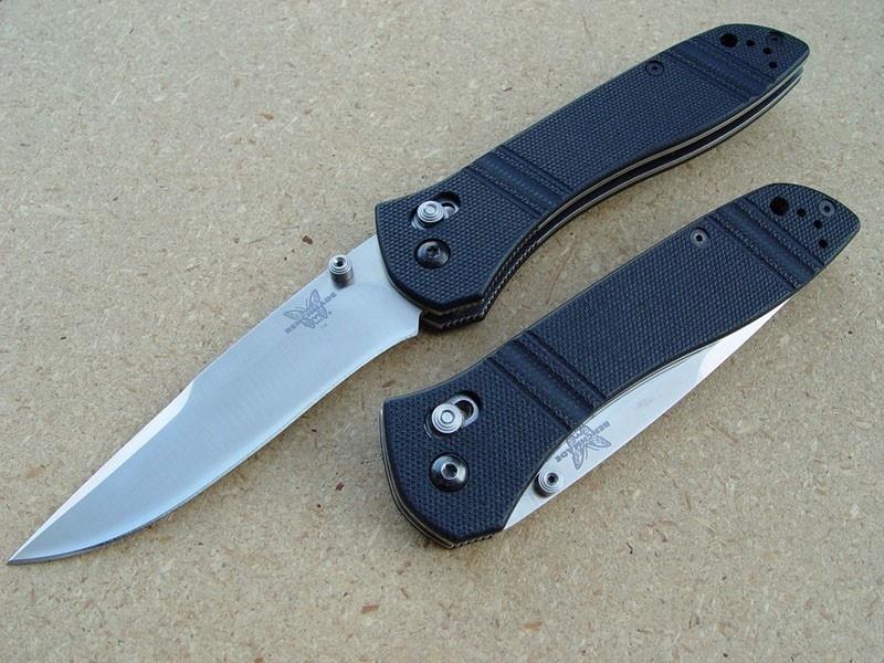 Фото 15 - Нож складной 710D2, сталь D2, рукоять G-10 от Benchmade