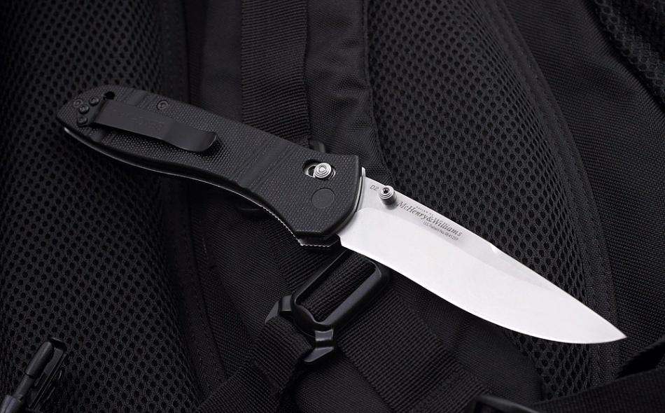 Фото 14 - Нож складной 710D2, сталь D2, рукоять G-10 от Benchmade