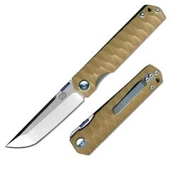 Складной нож Stedemon C03 , цвет коричневый