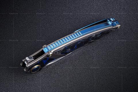 Нож складной RK1902-B от Rike, сталь M390. Вид 13