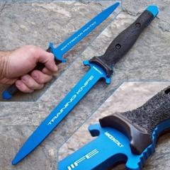 Нож тренировочный Suppressor (blue)