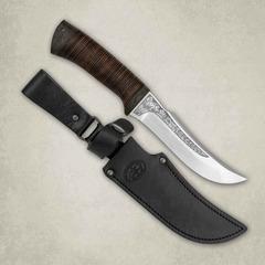Нож Клык, кожа, сталь  Elmax, фото 1