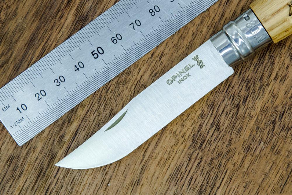 Фото 10 - Складной Нож Opinel №8 VRI Animalia Hare, нержавеющая сталь Sandvik 12C27, 001623, гравировка заяц