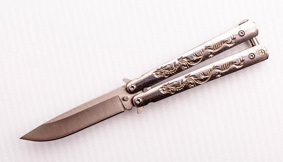 Нож-бабочка (балисонг) MK200 от Viking Nordway