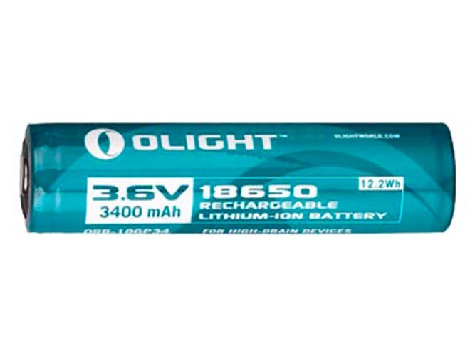 Аккумулятор Li-ion Olight ORB-186P34 18650 3,7 В. 3400 mAh аккумулятор telematic dj iph5 для apple iphone 5 1440 mah li ion