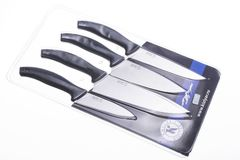 Набор кухонных ножей Квартет, с магнитом, фото 8