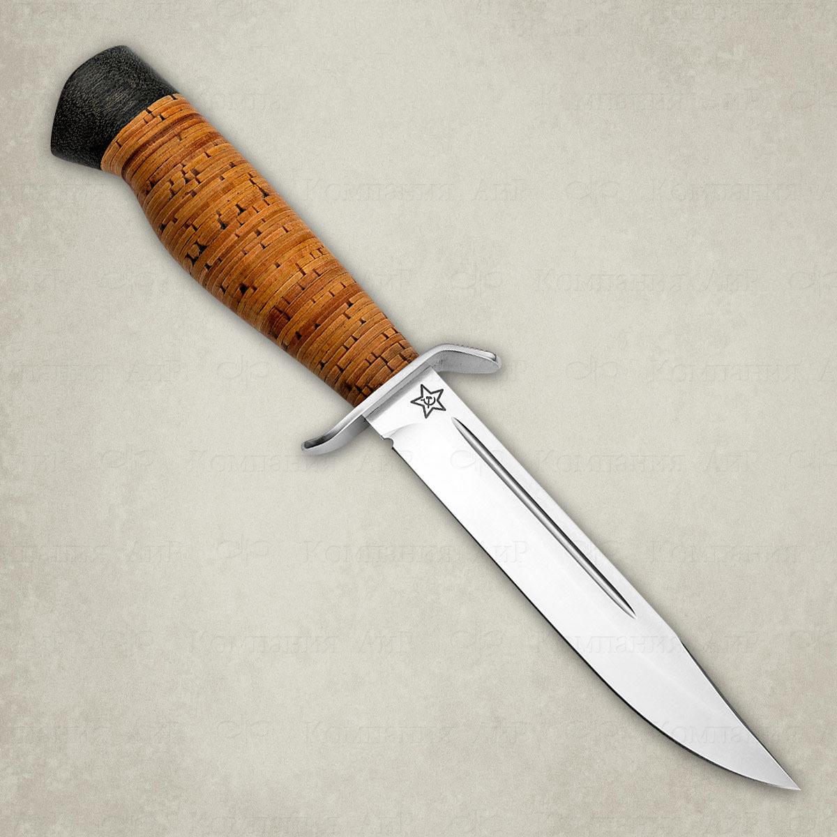 Нож разделочный АиР Штрафбат, сталь M390, рукоять береста