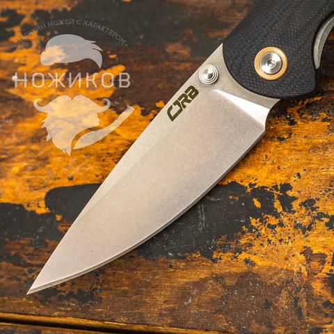 Складной нож CJRB Feldspar, сталь D2, Black G10. Вид 2