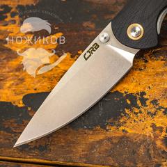 Складной нож CJRB Feldspar, сталь D2, Black G10, фото 2
