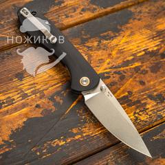 Складной нож CJRB Feldspar, сталь D2, Black G10, фото 4