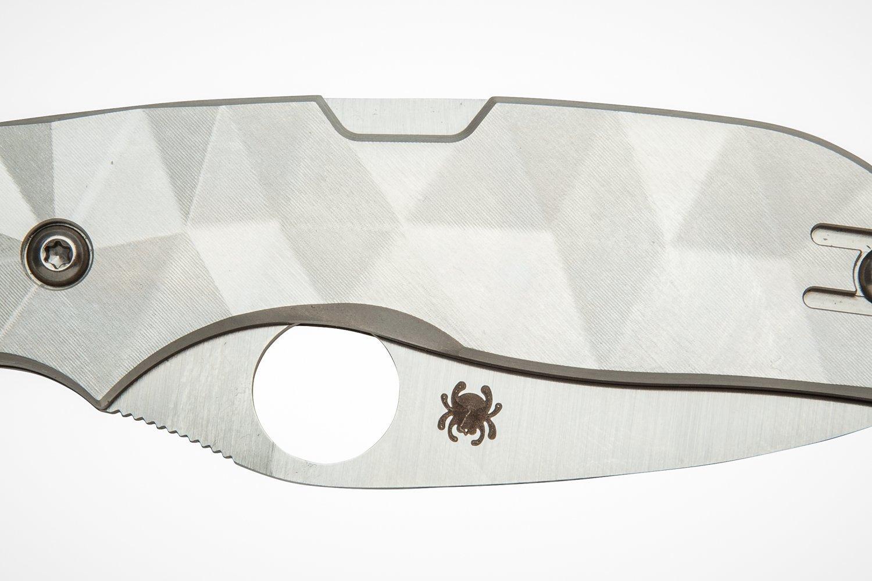 Фото 8 - Нож складной Spyderco Chaparral 2 C152TIP, сталь CTS-XHP, рукоять титан
