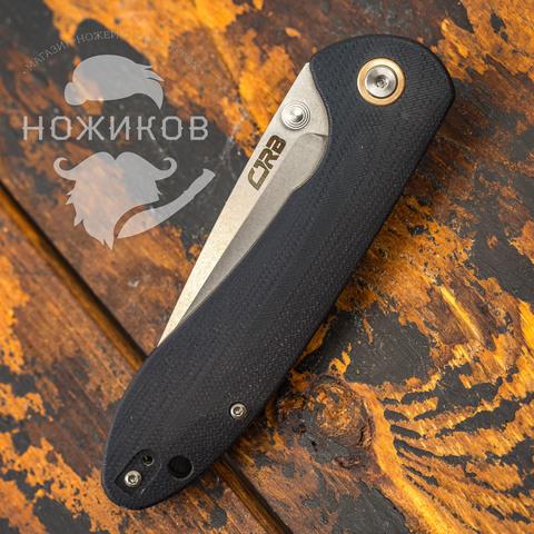 Складной нож CJRB Feldspar, сталь D2, Black G10. Вид 7