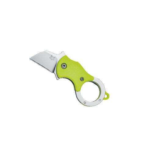 Складной нож MINI-TА , клинок 1.4116, ярко-зеленый нейлон от Fox