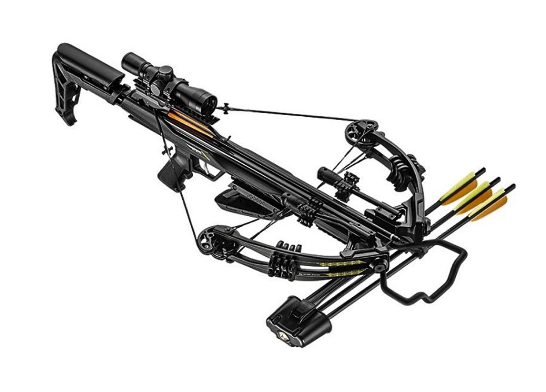 Арбалет блочный Ek Accelerator 370 Plus (Жнец 370) черный (c комплектацией) от Ek Archery