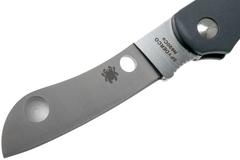 Нож складной Roadie™ Spyderco 189PGY TSA Knife (Transportation Security Administration), сталь N690Co Satin Plain, рукоять термопластик FRN, серый, фото 5