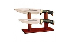 Подставка для 2 ножей, деревянная U/EX-2