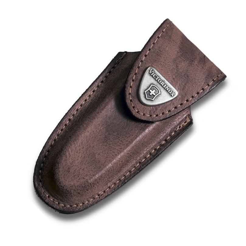 Чехол для ножей Victorinox Leather Belt Pouch, коричневый, кожа