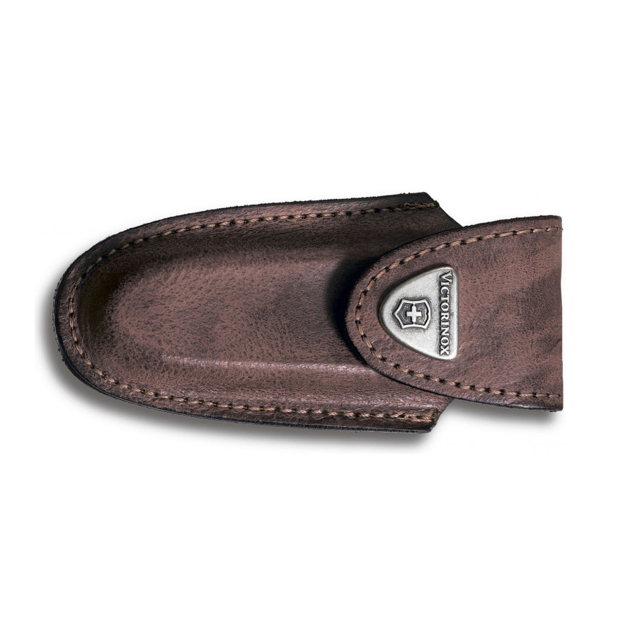 Фото 4 - Чехол для ножей Victorinox Leather Belt Pouch, коричневый, кожа