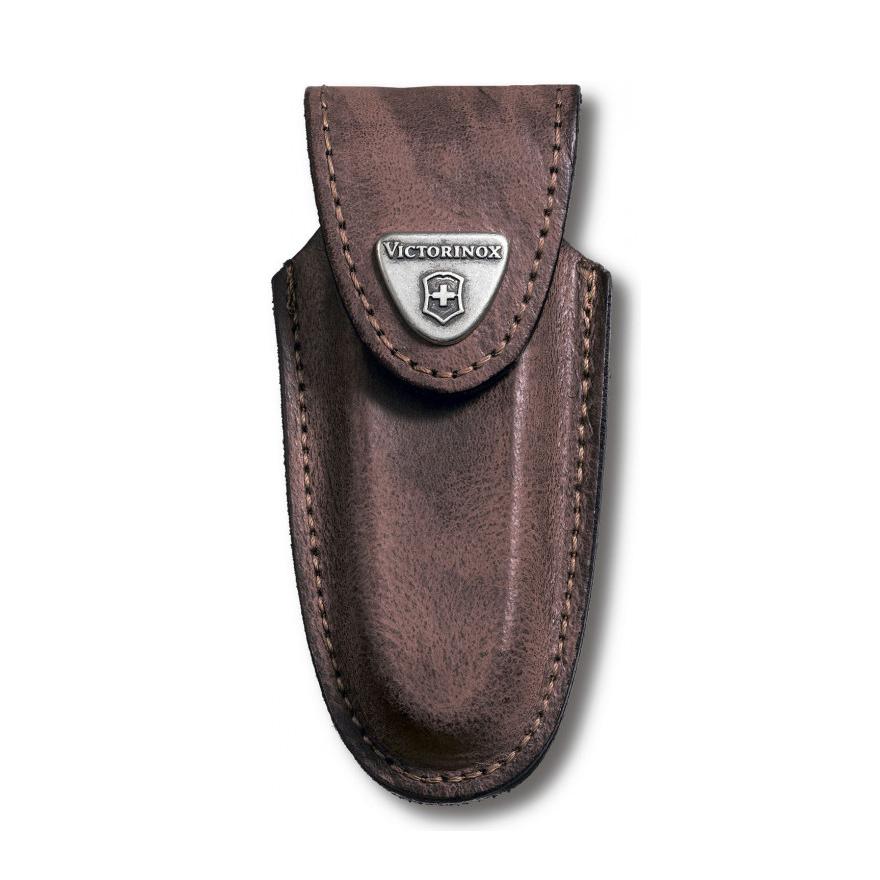 Фото 5 - Чехол для ножей Victorinox Leather Belt Pouch, коричневый, кожа