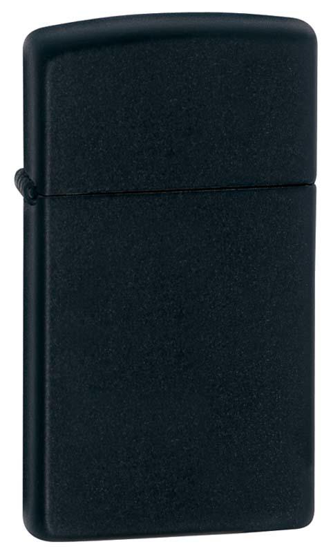 Фото 4 - Зажигалка ZIPPO Black Matte, латунь с порошковым покрытием, черный, матовая, 30х55х10 мм