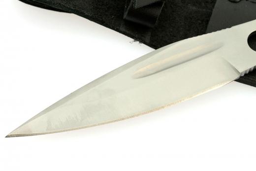 Фото 14 - Нож метательный «Перо», из нержавеющей стали 65х13 от Noname