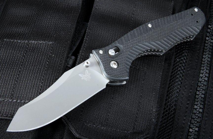 Фото 8 - Нож складной Benchmade 810 Contego, сталь CPM-M4, рукоять G-10