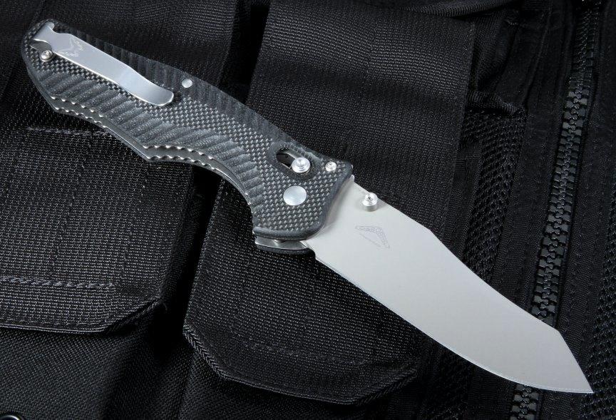 Фото 9 - Нож складной Benchmade 810 Contego, сталь CPM-M4, рукоять G-10