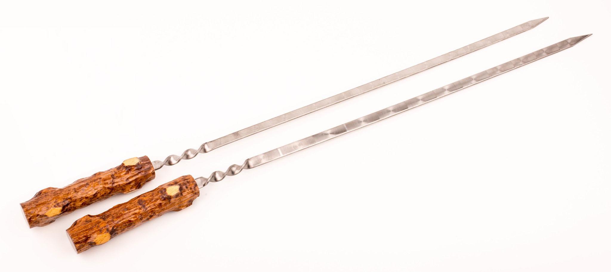 Набор из 6-ти шампуров с мангалом Пенек, в чехле