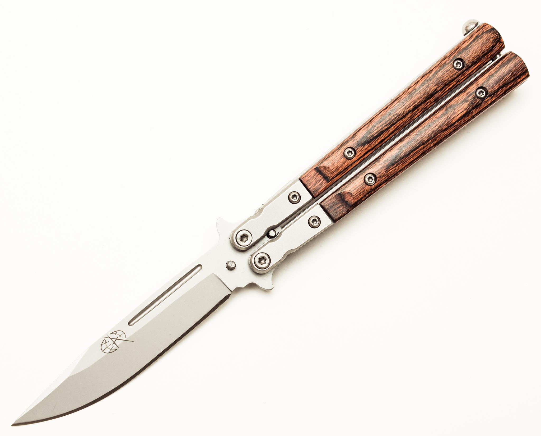 Нож-бабочка (балисонг) T700 от Pirat