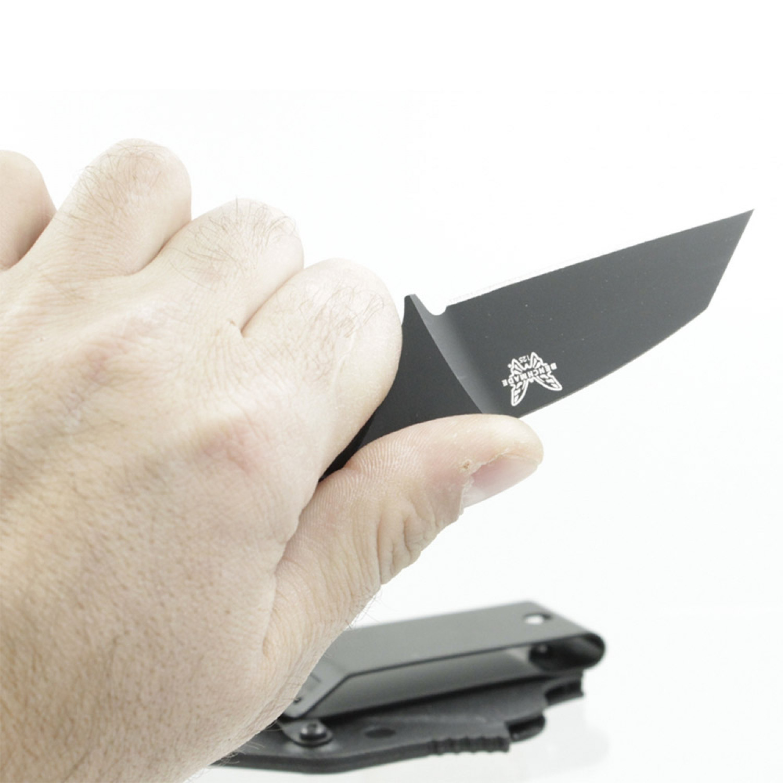 Фото 8 - Нож Benchmade Azeria 125BK, сталь N-680, рукоять черный пластик