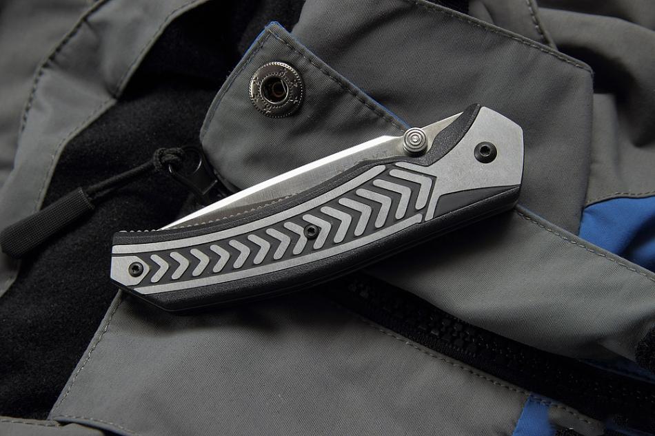Фото 9 - Полуавтоматический складной нож Lift Off 2, CRKT 6820, сталь AUS-8, рукоять термопластик Zytel®/сталь