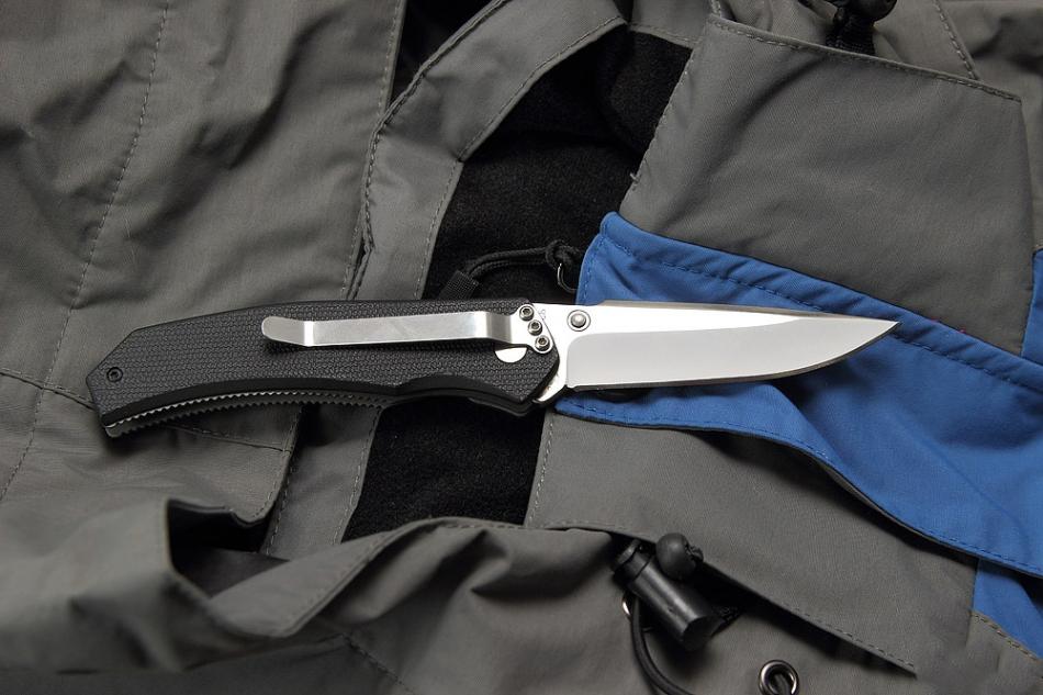 Фото 10 - Полуавтоматический складной нож Lift Off 2, CRKT 6820, сталь AUS-8, рукоять термопластик Zytel®/сталь