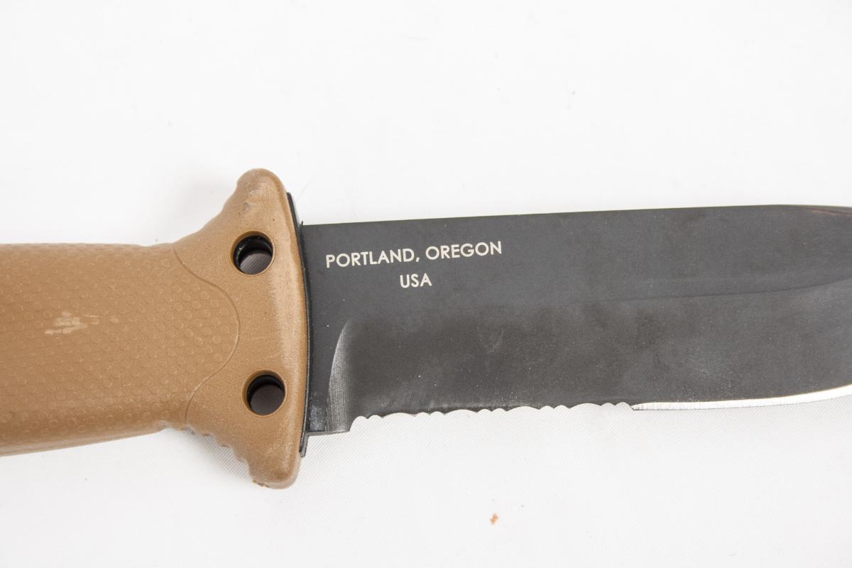 Фото 6 - Нож с фиксированным клинком Gerber LMF II Survival - R, сталь 420HC, рукоять термопластик GRN