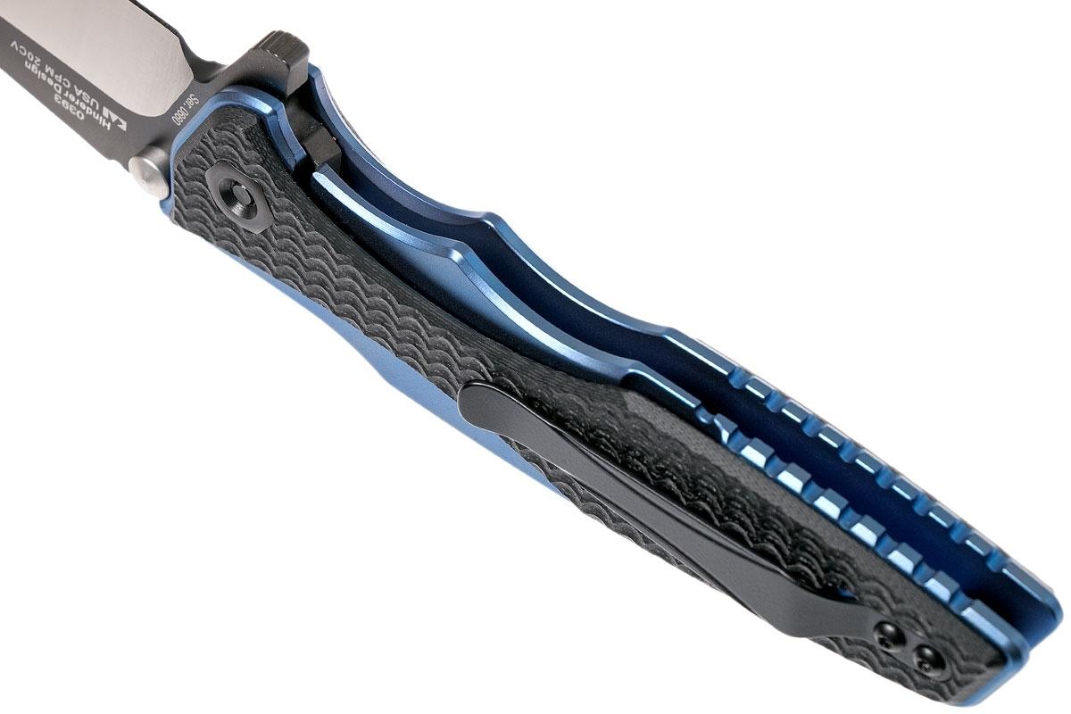 Фото 10 - Складной нож Zero Tolerance 0393, сталь CPM-20CV, титан/G-10