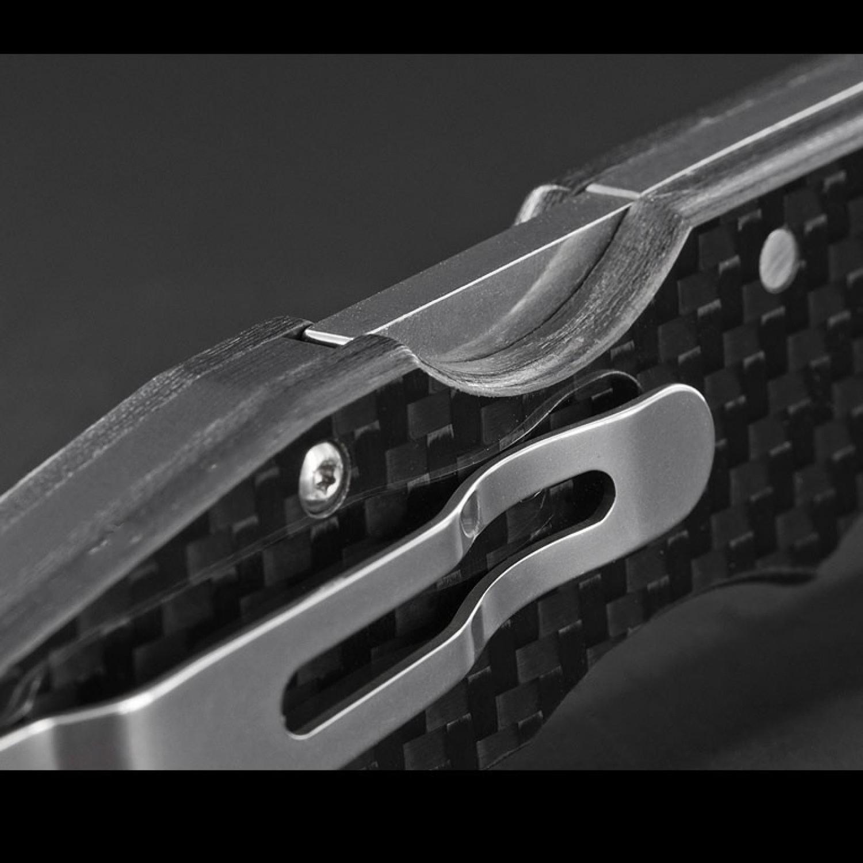Фото 6 - Складной нож Storm Cloud, сталь CPM 20CV,  G-10/карбон от Cold Steel