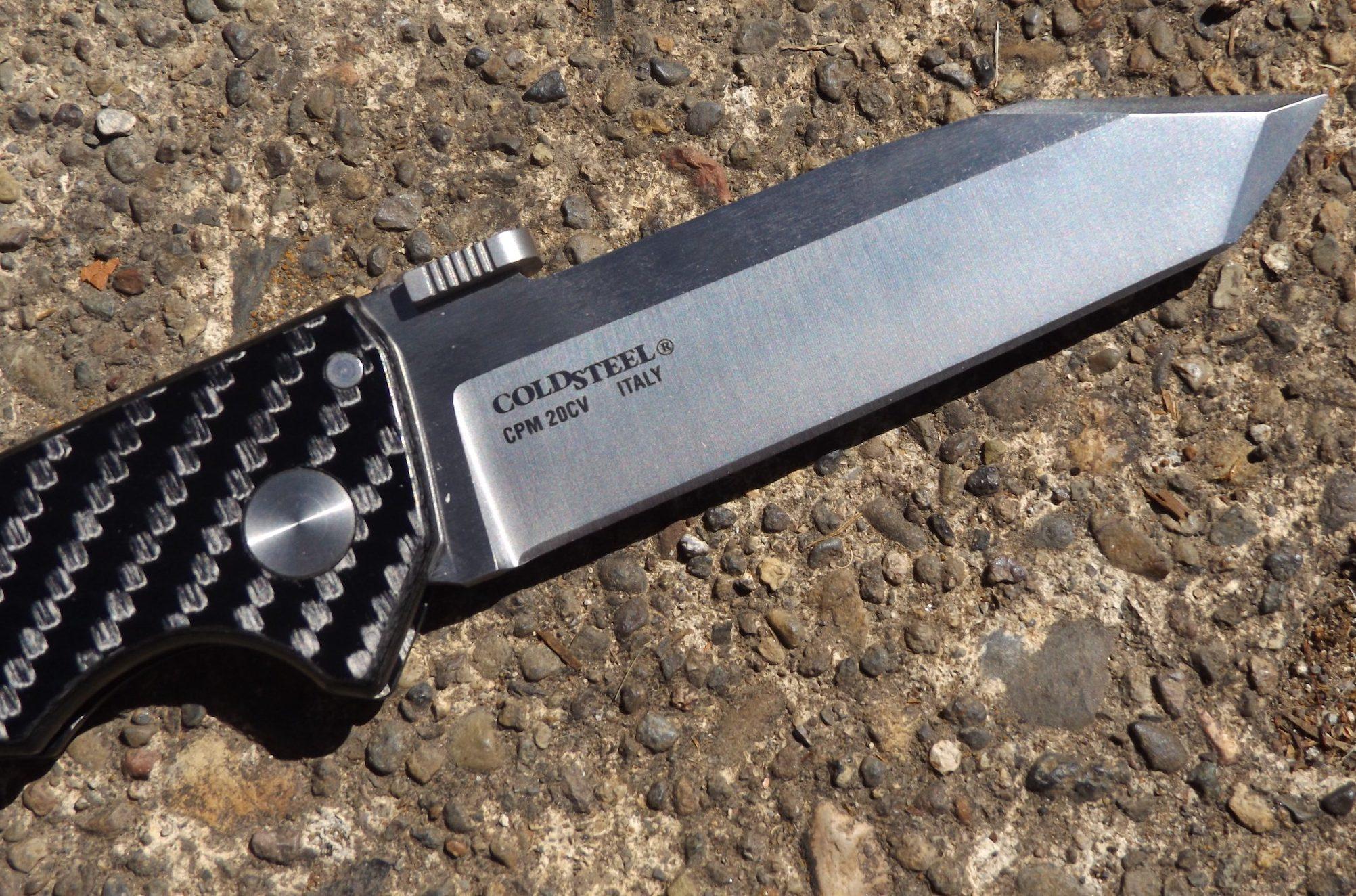 Фото 9 - Складной нож Storm Cloud, сталь CPM 20CV,  G-10/карбон от Cold Steel