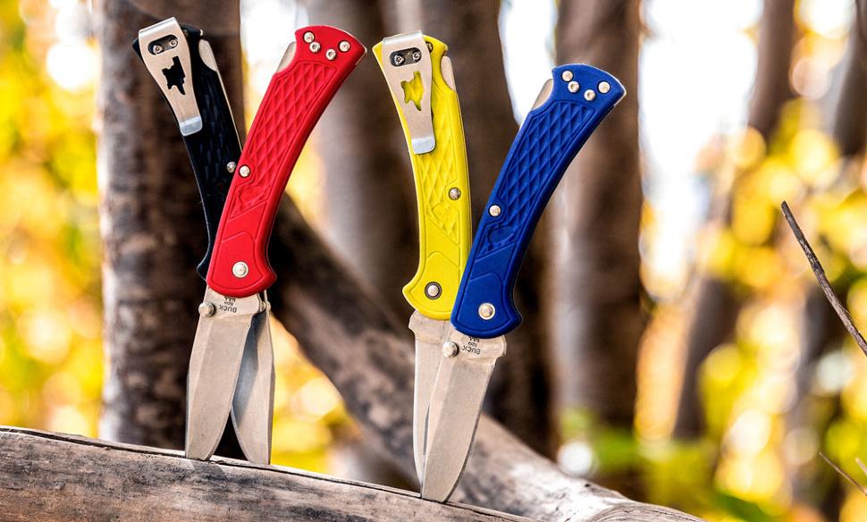 Фото 3 - Складной нож Buck Folding Hunter Slim Select 0110GRS1, сталь 420HC, рукоять пластик