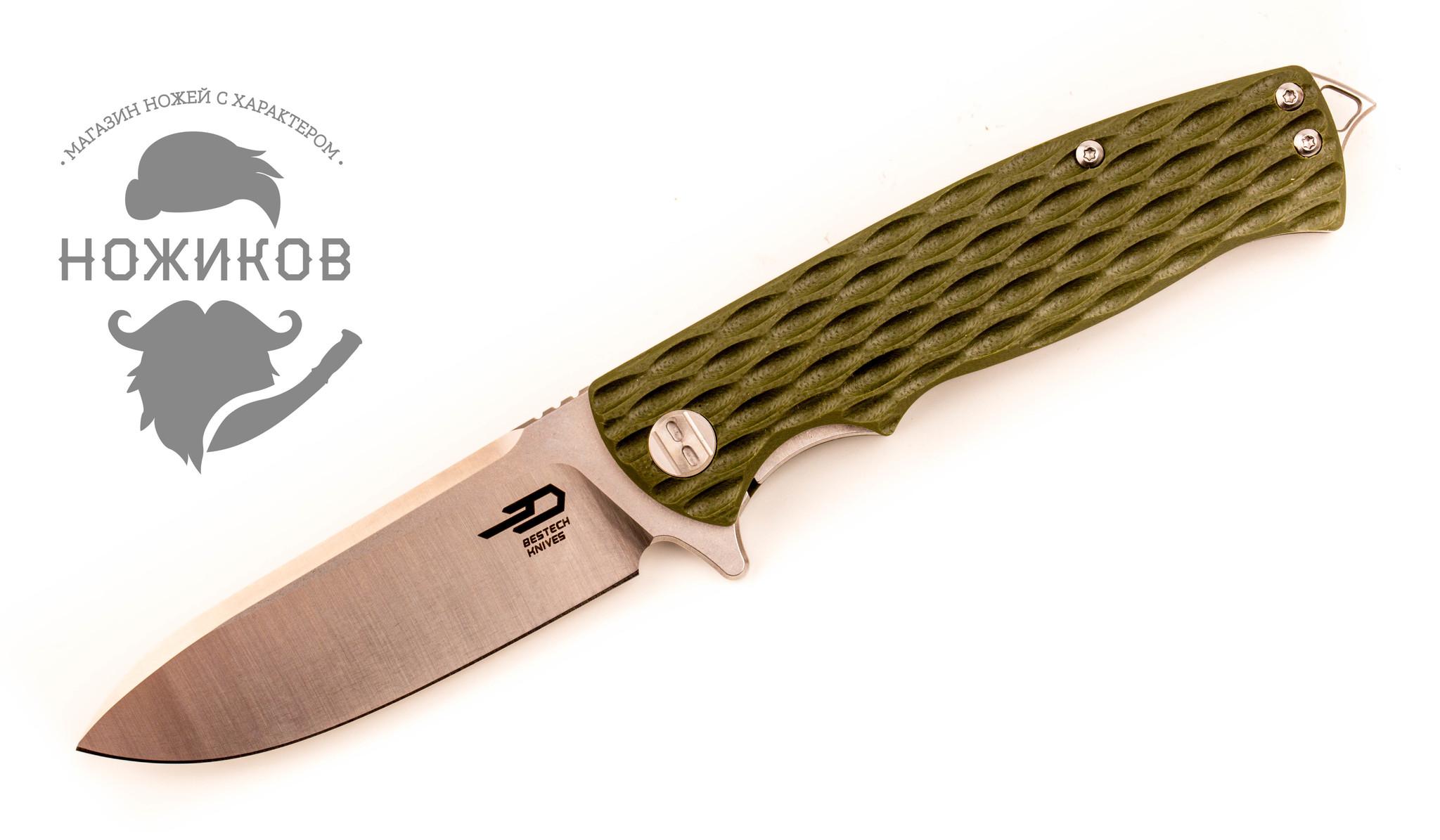 лучшая цена Складной нож Bestech Grampus, D2