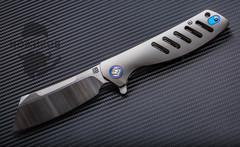 Складной нож Artisan Tomahawk, сталь S35VN, титан