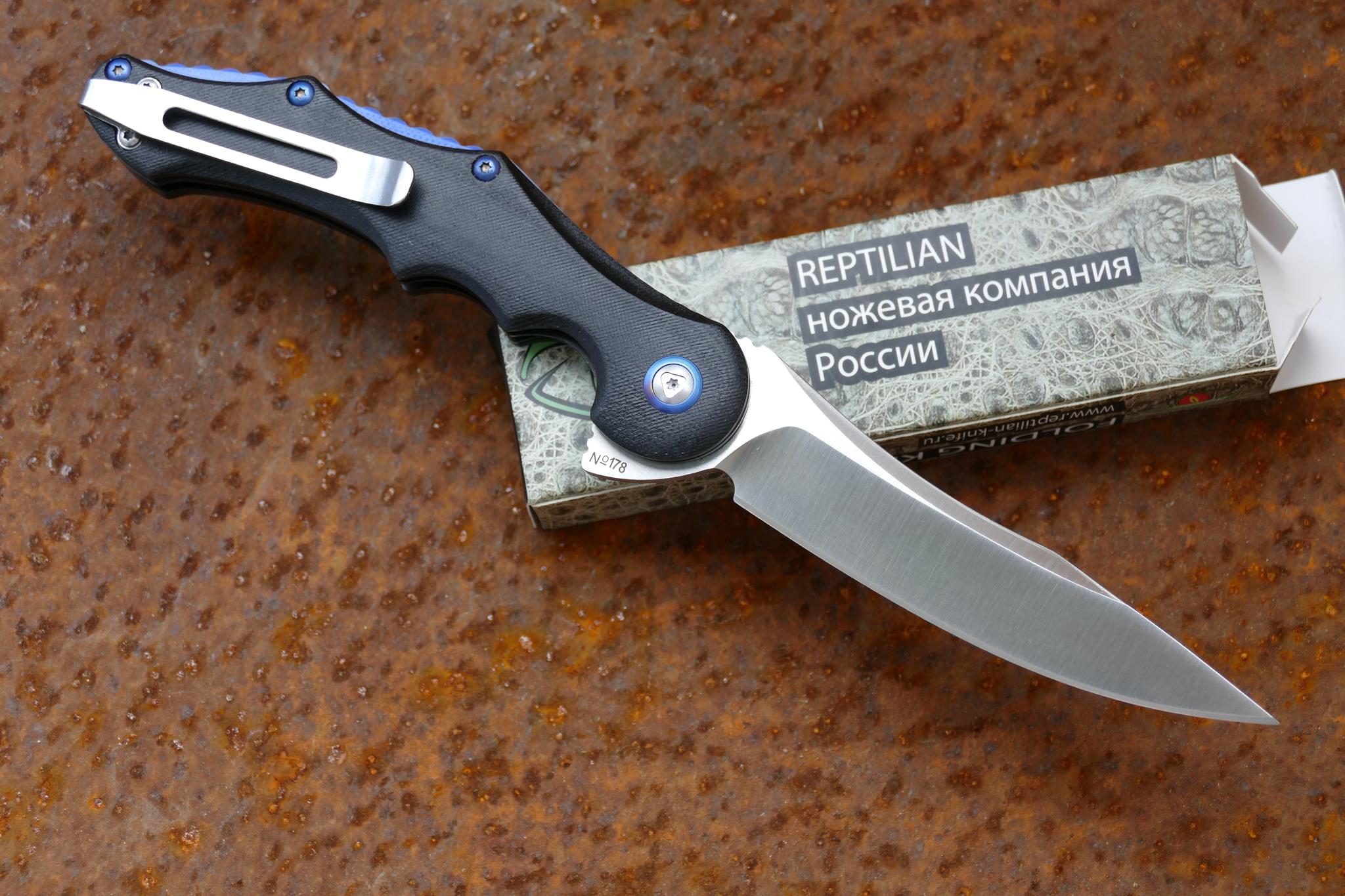 Фото 8 - Нож Рейв от Reptilian